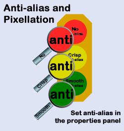 AntiAliasingColorGraphicBlueCanvasSmall